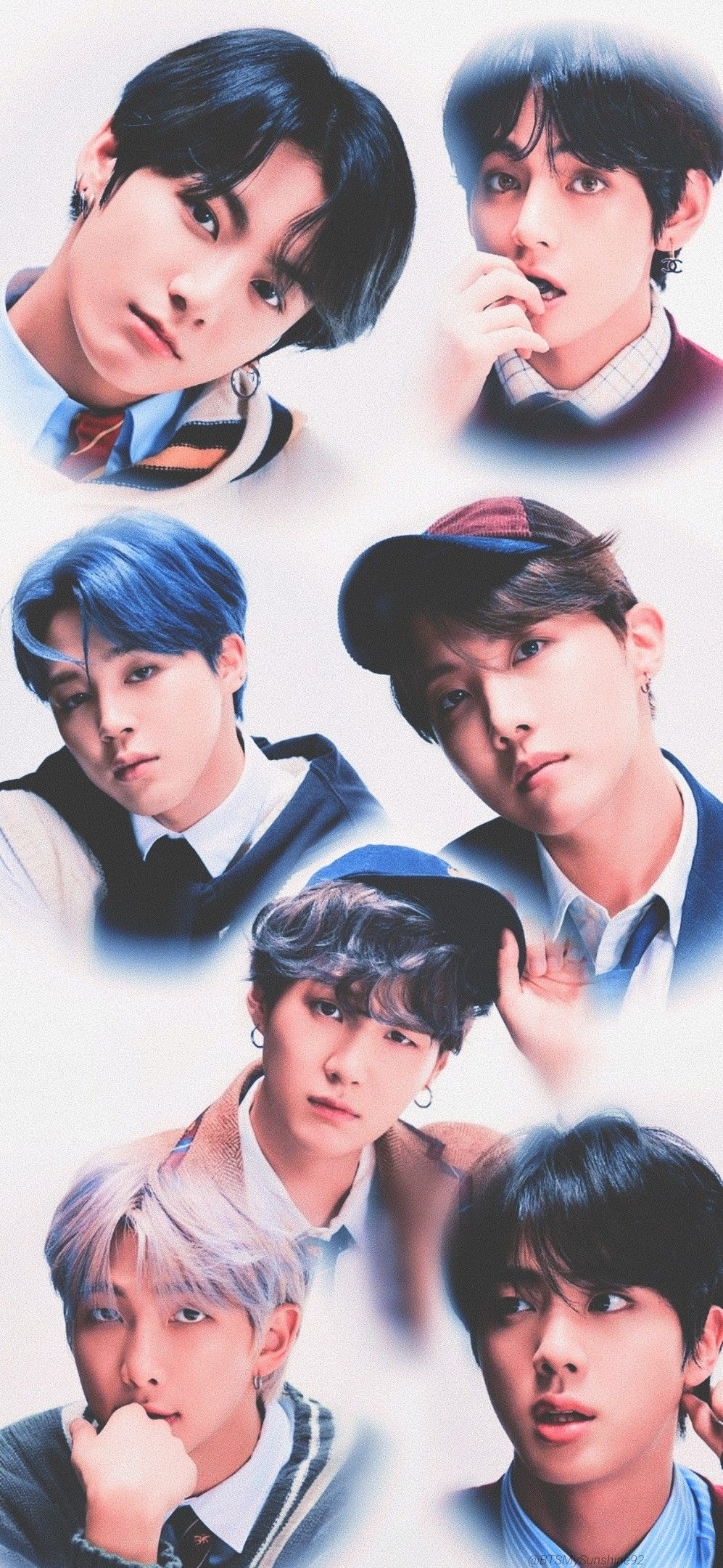 BTS 방탄소년단 MAP_OF_THE_SOUL_7 Concept Photo version 4 di
