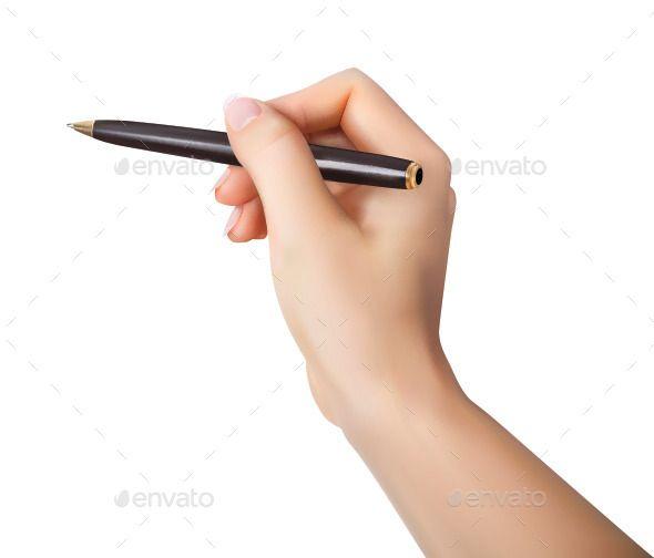 Mano Grigia Che Tiene L Elemento Penna Pen Icon Hand Clipart Hand Images