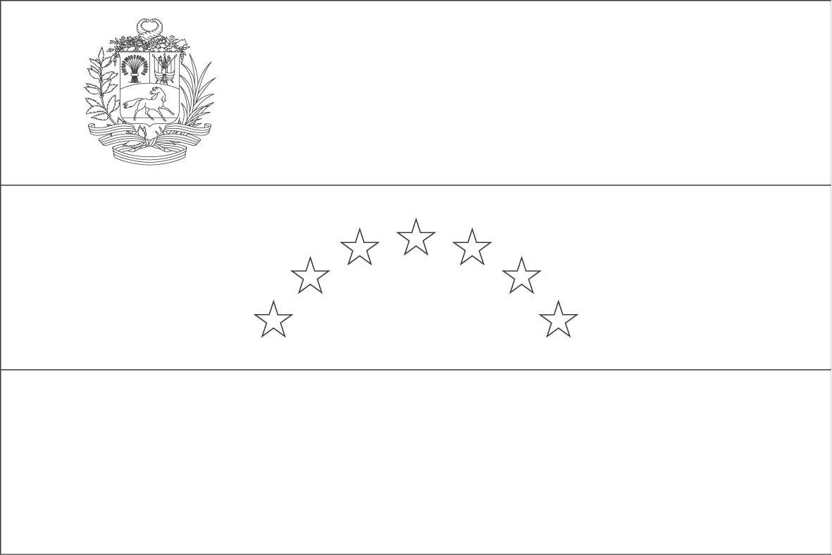 Venezuela Flag Coloring Page Sonlight Core C Window On
