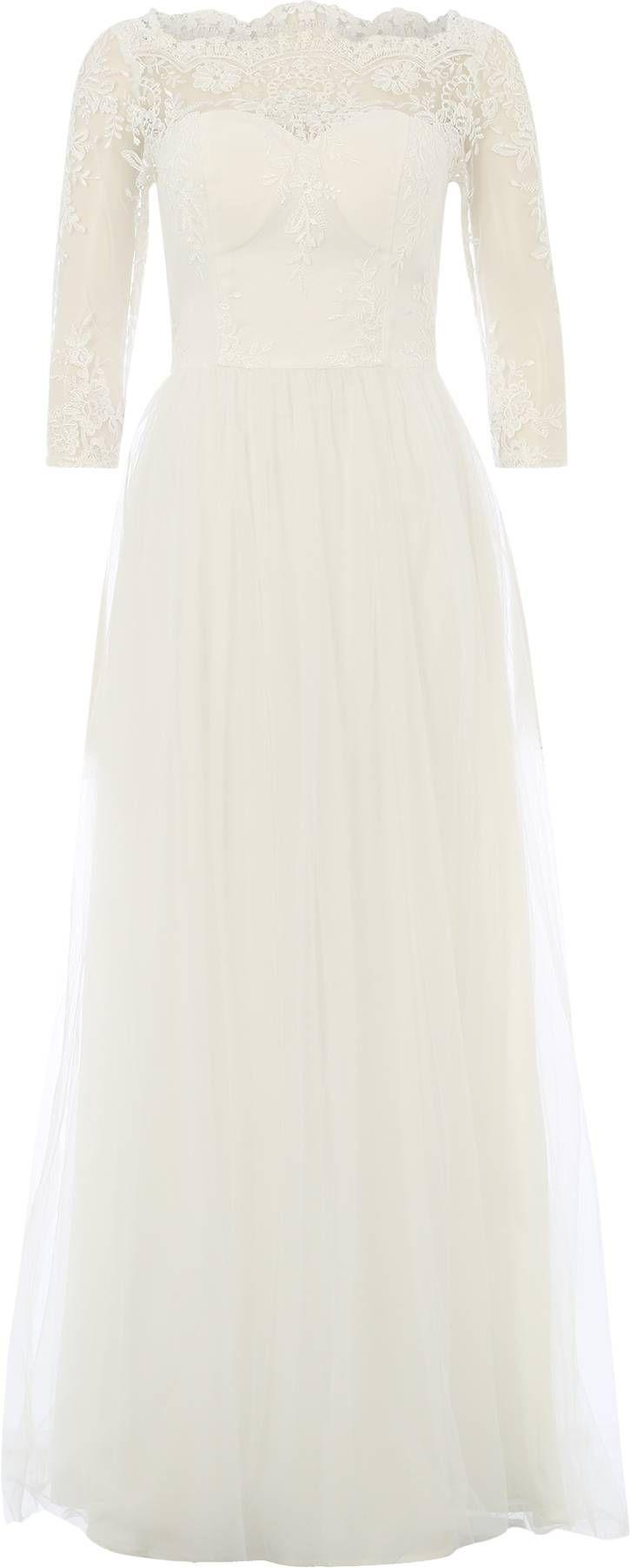 Hochzeitskleid \'Mary-Jane\' von Chi Chi London. Schnelle und ...