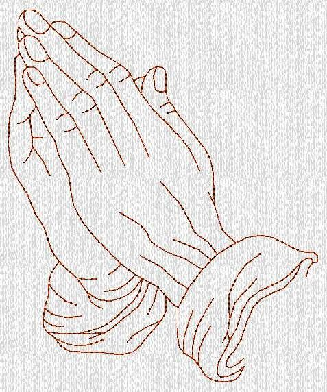 6986bd3efca8f Free Hand Embroidery Coffee Patterns | INSTANT DOWNLOAD Praying Hands  Redwork Machine Embroidery Designs