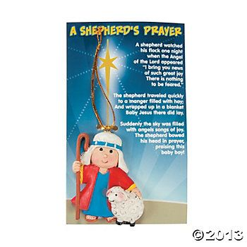 PK 2 CHRISTMAS SHEPARD  EMBELLISHMENT TOPPERS FOR CARDS AND CRAFTS