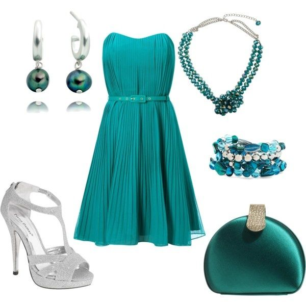 LOVE the deep teal  sophisticated