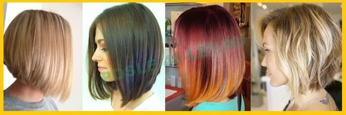 каре боб на длинные волосы фото