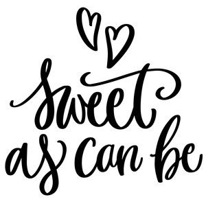 Download sweet as can be | Silhouette | Silhouette design ...
