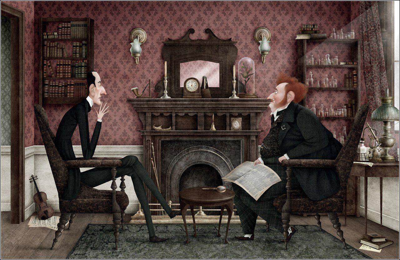 «Союз рыжих»: иллюстрации Iban Barrenetxea