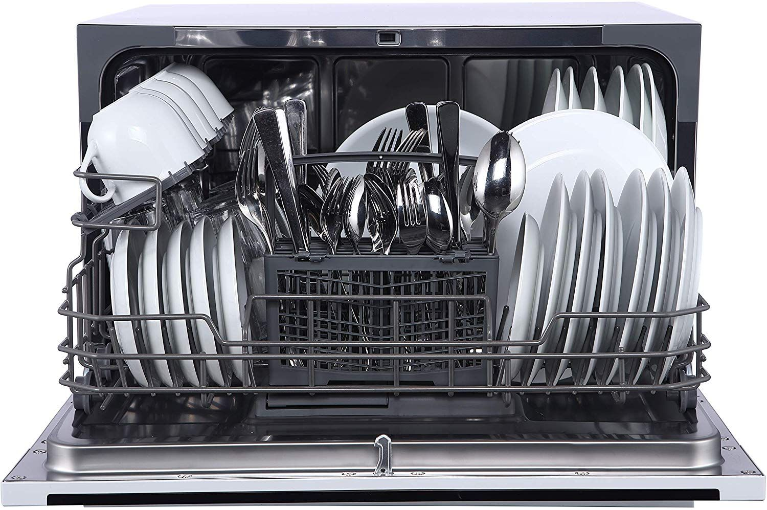 Farberware FCD06ABBBKA 6 Place Setting Countertop Dishwasher Black