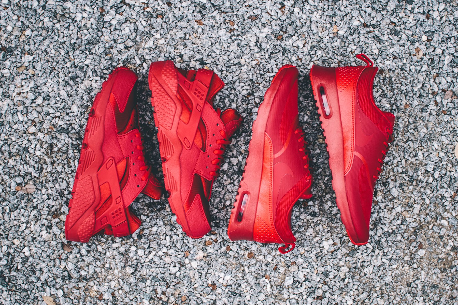 """f40f1b34a0005 New Nike Women s Air Huarache """"Gym Red"""""""