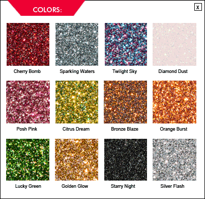 krylon new glitter spray paint...even safe for scrapbooking... I freakin love glitter