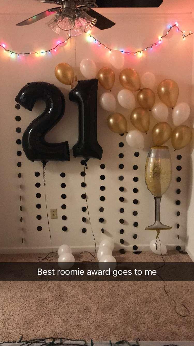 21st Birthday Backdrop 21st Birthday Balloons 21st Birthday