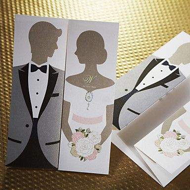 Sweet Bride \ Groom Wedding Invitation (Set of 50) Sophia T - best of invitation text adalah