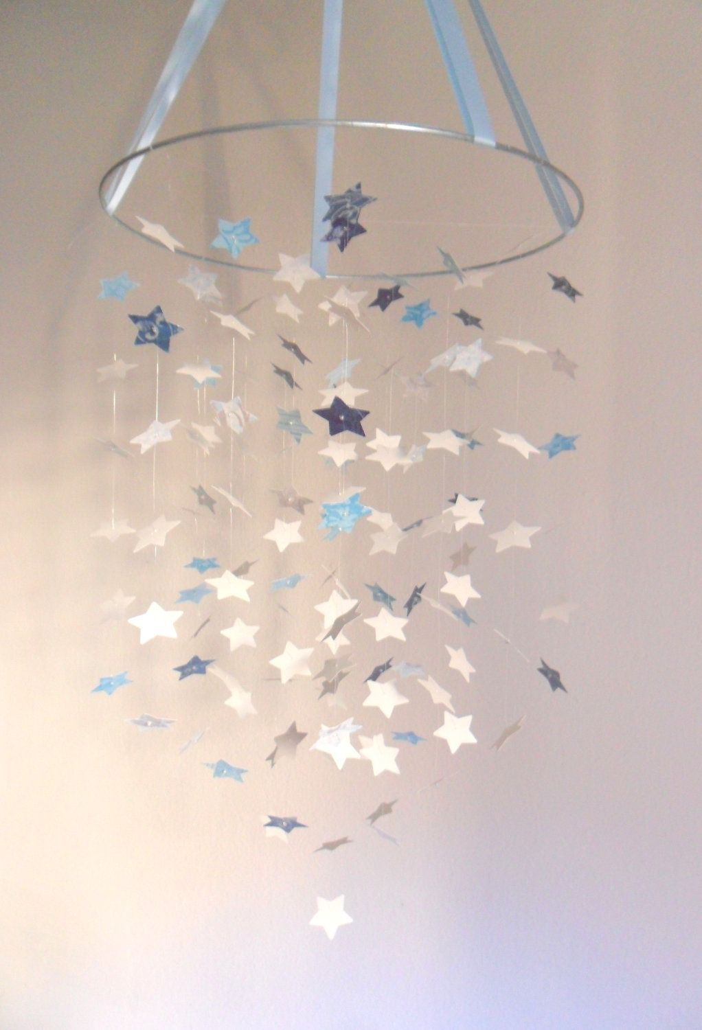 The Shabby Chic Boy Star Mobile Diy Kit Baby Belly