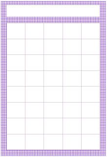 Purple Gingham Sticker Chart  My Giggly Girls
