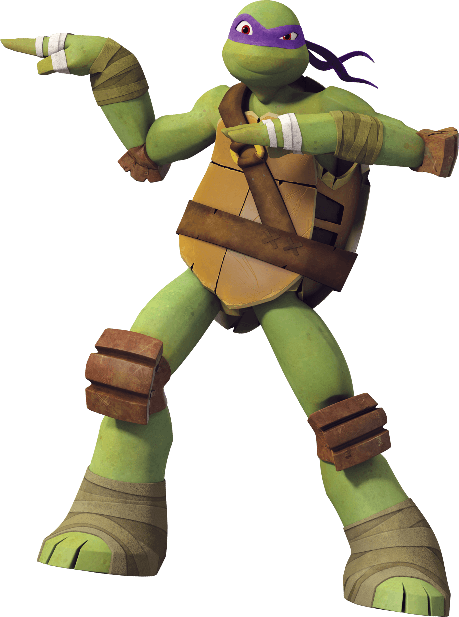hi im donatello but call me donnie im the smart one