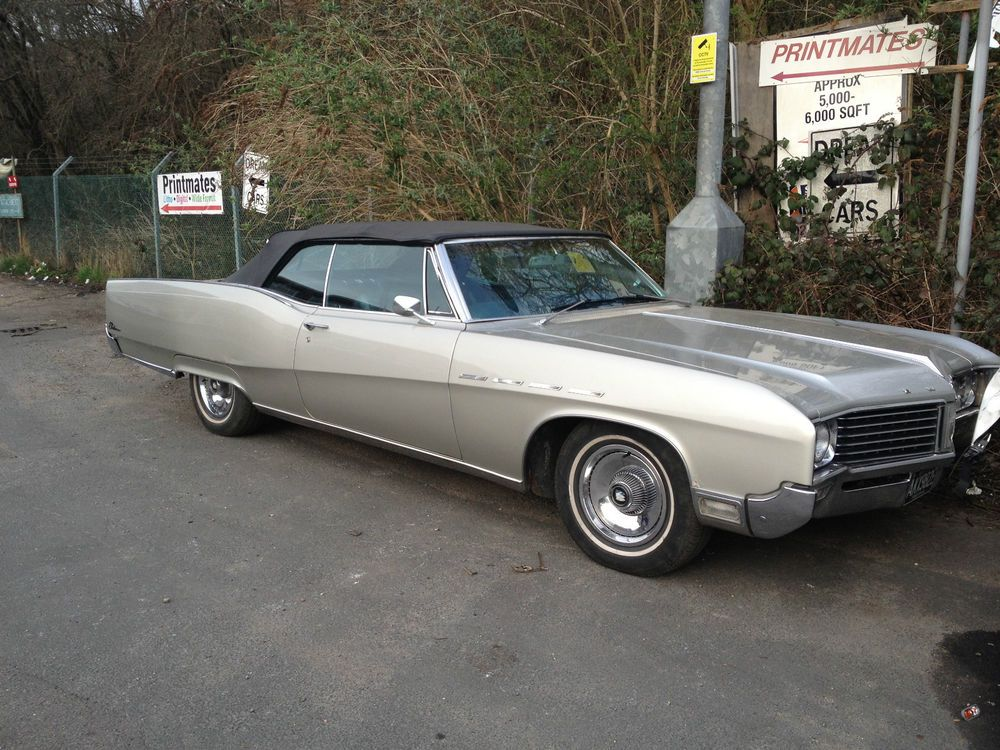 1967 BUICK ELECTRA 225 CONVERTIBLE mega rare only one in the UK ...