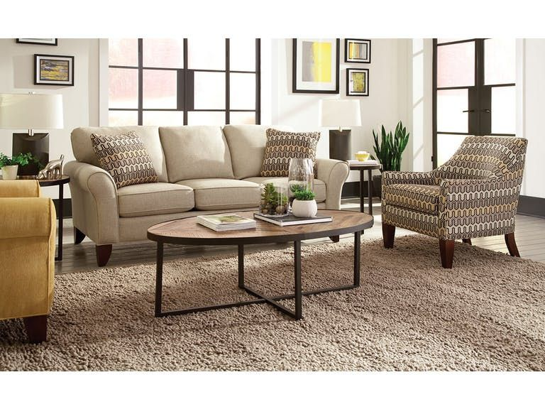 Craftmaster Living Room Sofa 755150   Tyndall Furniture Galleries, INC    Charlotte, Mooresville,