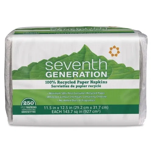 Seventh Generation 100 Recycled Napkins (With images