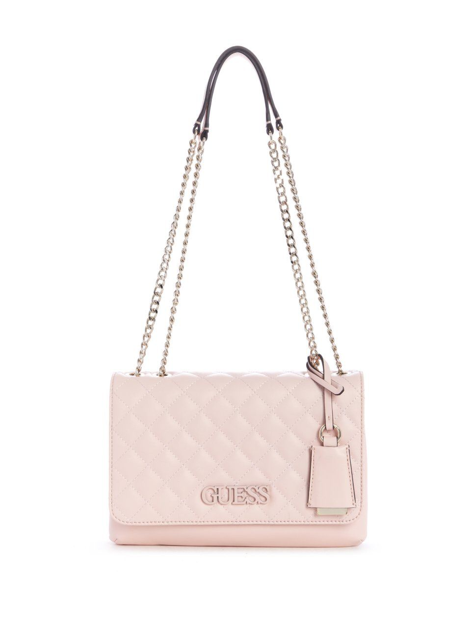 Elliana Quilted Convertible Crossbody   Guess purses