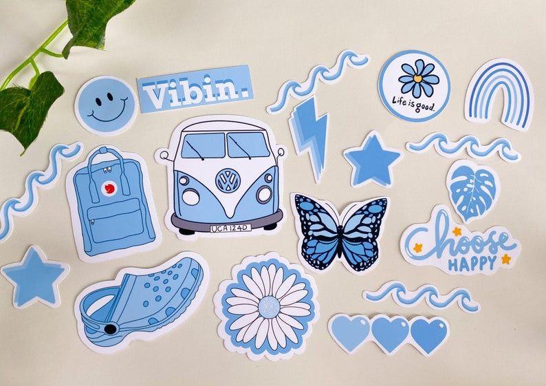 Sticker Pack Semi Waterproof