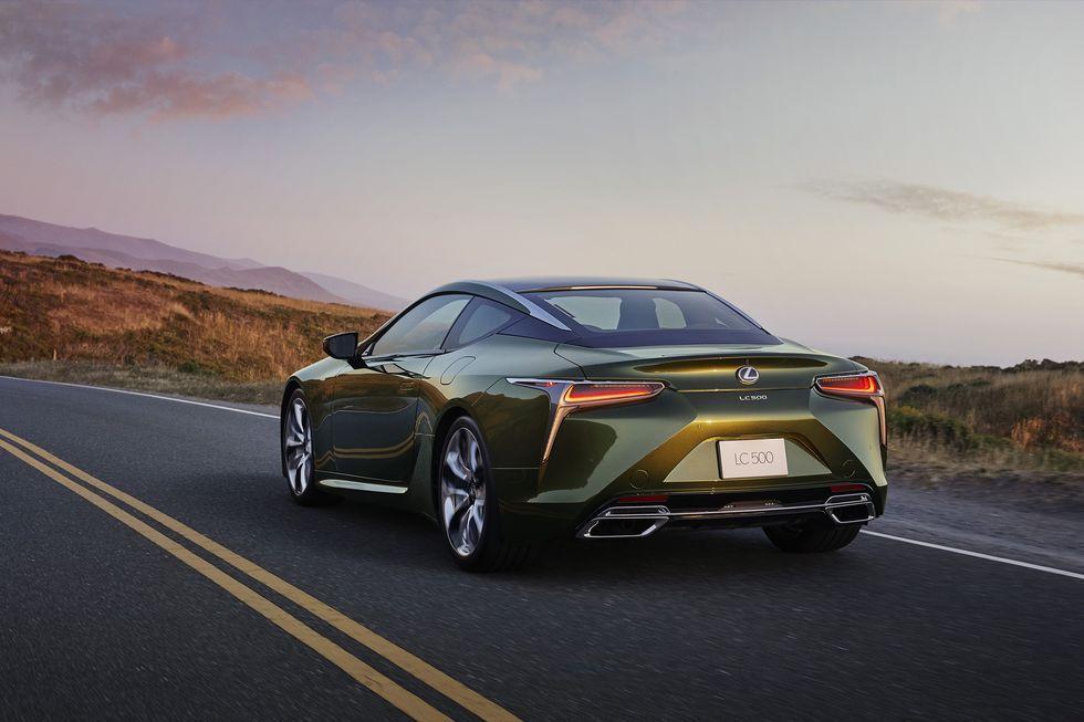 2020 Lexus Lc500 Inspiration Series Debuts In Nori Green In 2020 Lexus Lc Lexus 10 Picture