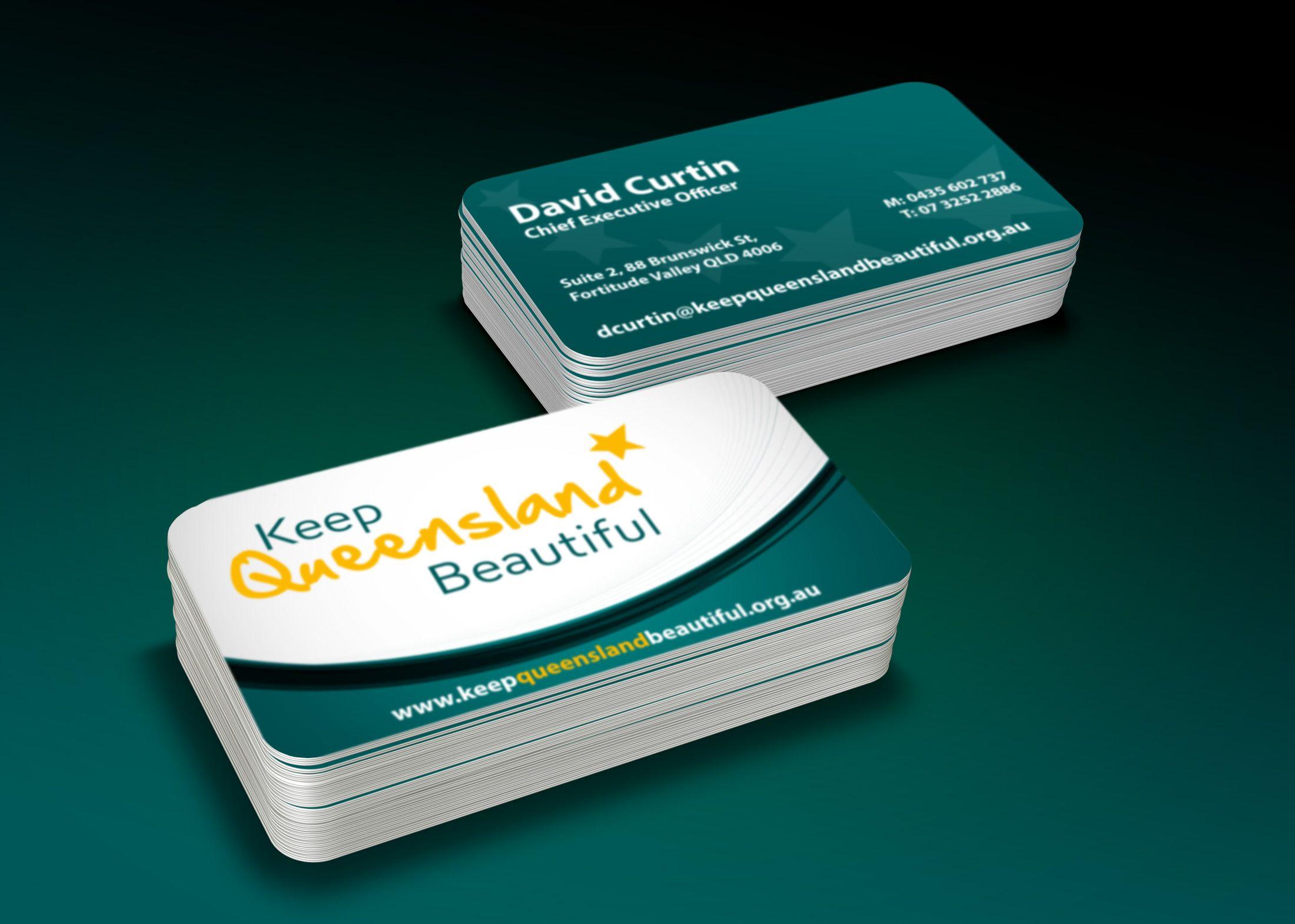 Keep Queensland Beautiful Business Card   Business Cards Designs ...