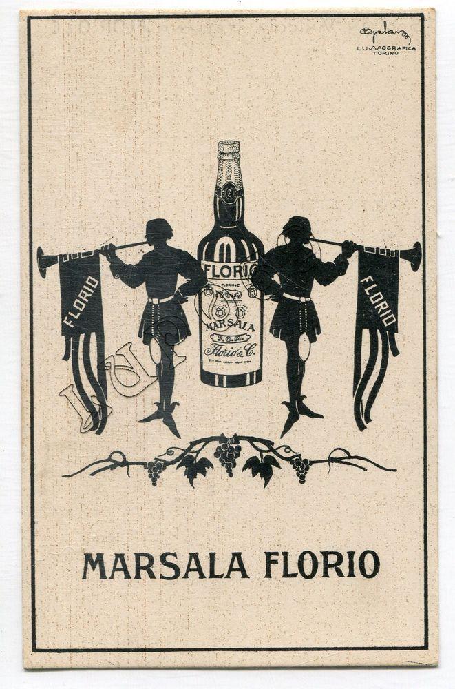 Marsala Florio Manifesti Grafici Poster Con Illustrazioni