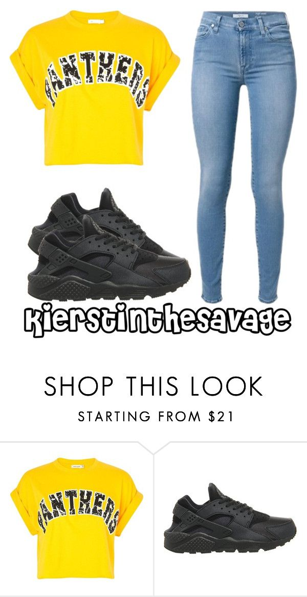 """""""."""" by kierstinthesavage on Polyvore featuring River Island and NIKE"""