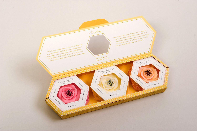 Fleur de vie beautiful #soap #packaging by Emily Kelley! PD