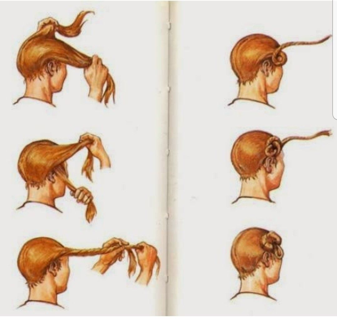 Suebian Knot Germanic Tribes Historical Hairstyles Bog Body