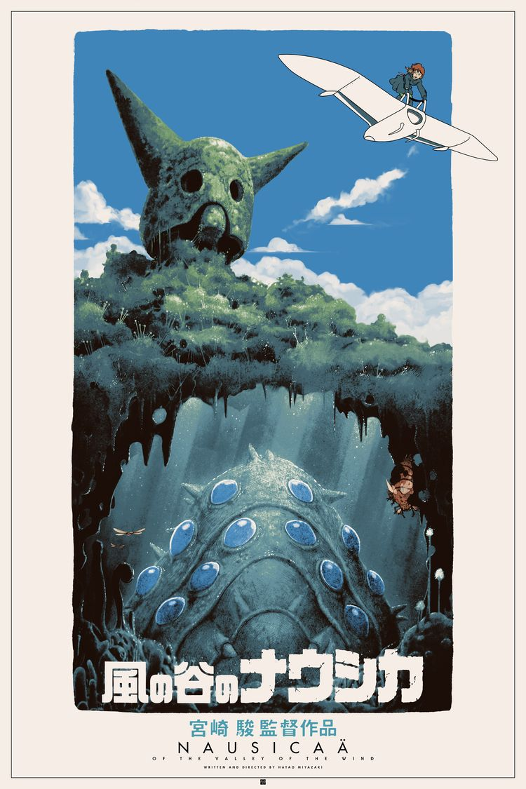 "kogaionon: "" Porco Rosso & Nausicaä of the Valley of the Wind by Matt Ferguson / Behance / Facebook / Tumblr / Twitter / Instagram / Store 24"" x 36"" screen prints, numbered editions of 75. Private..."