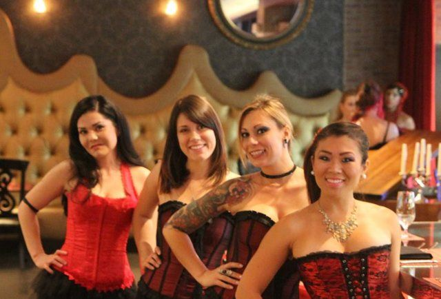 Girls In Corsets And An Inside Out Grilled Cheese Welcome To Rx Boiler Room Stag Party Girl Bachelor Party