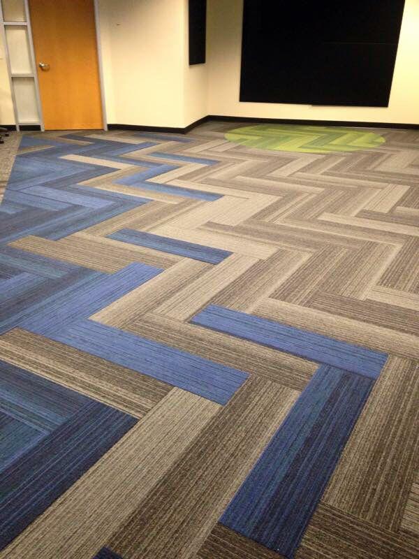 Interface Walk The Plank Herringbone Carpet Tiles Flooring Floor Design