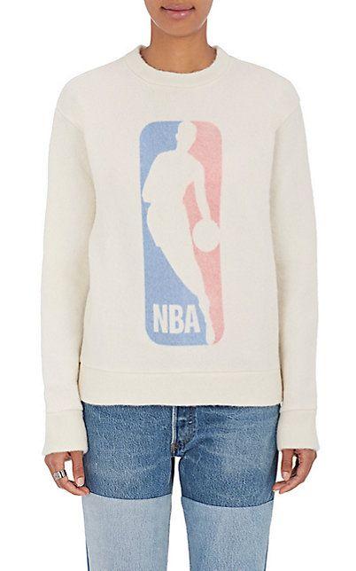 Sale Wiki NBA logo T-shirt - White The Elder Statesman X NBA For Sale Cheap Real v2DYZ