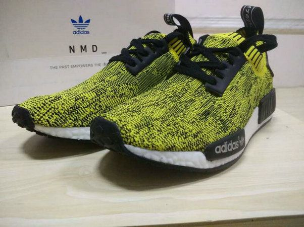 dcd0ed6537ad Adidas NMD Runner Pk Primeknit Yellow Black S42131 How To Buy Shoe ...