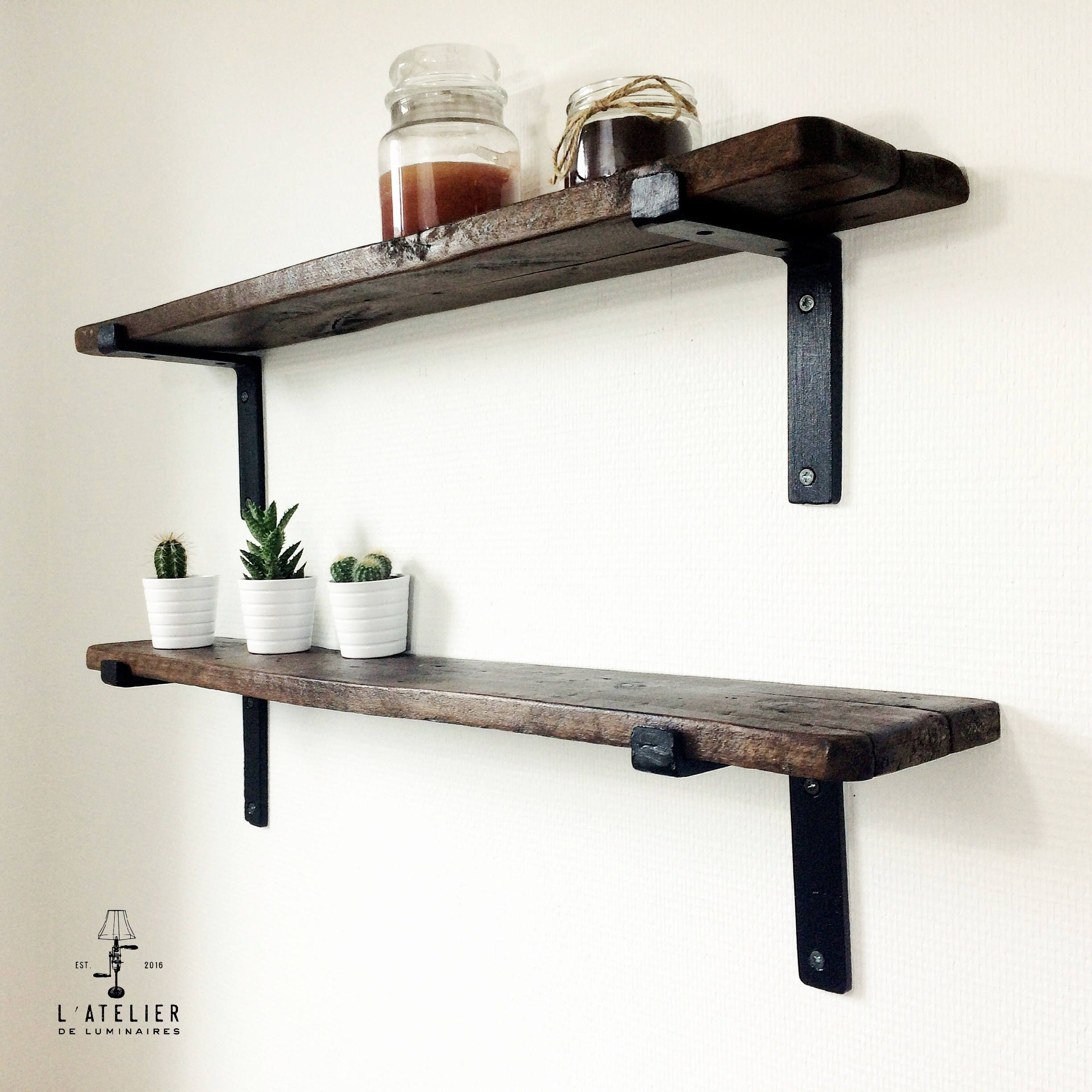 scandinavian shelf wood shelf industrial shelf pallet. Black Bedroom Furniture Sets. Home Design Ideas