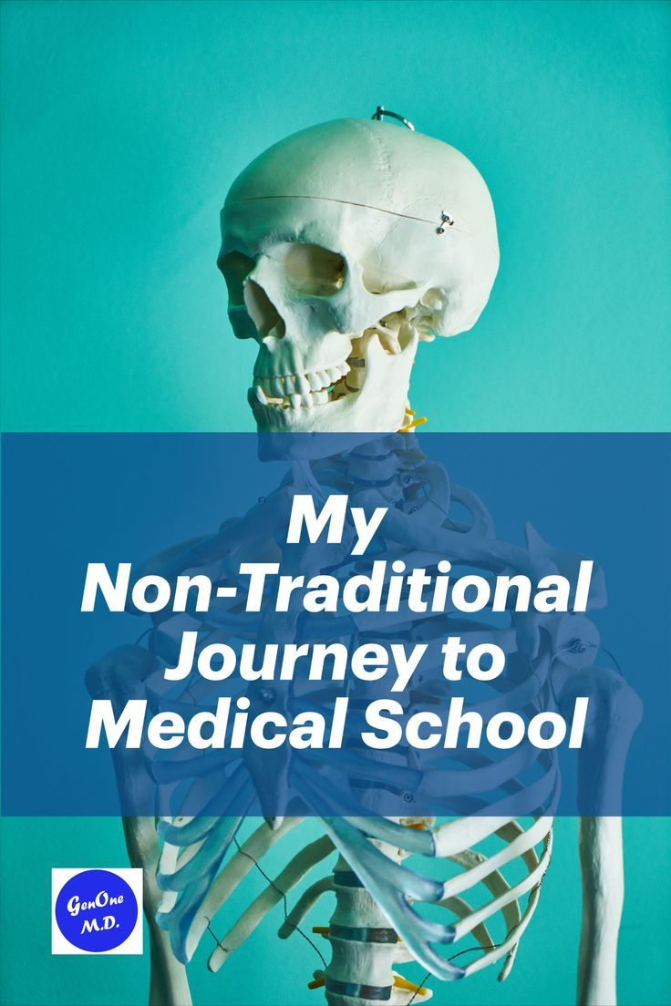 My nontraditional journey to medical school in 2020