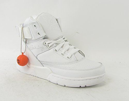 "c7de0dfc637 Ewing Athletics Ewing 33 HI ""Triple White"" Men's Basketball Shoes ..."