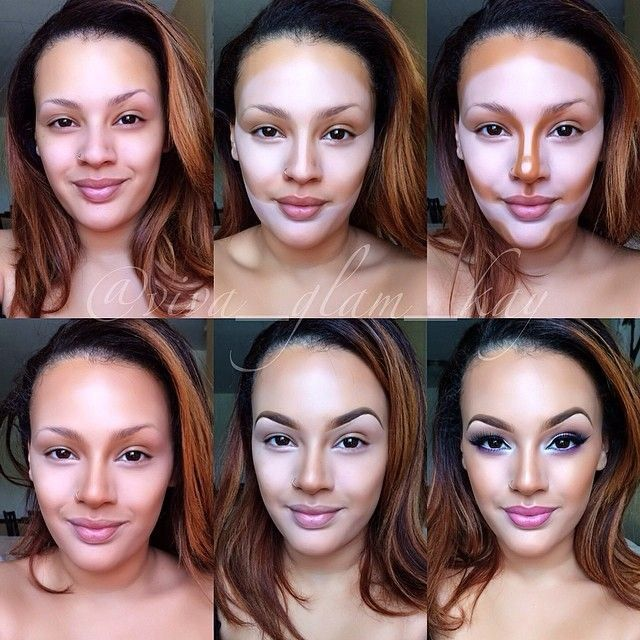 10 Incredible Makeup Contour Transformations   Purty Eyes ...