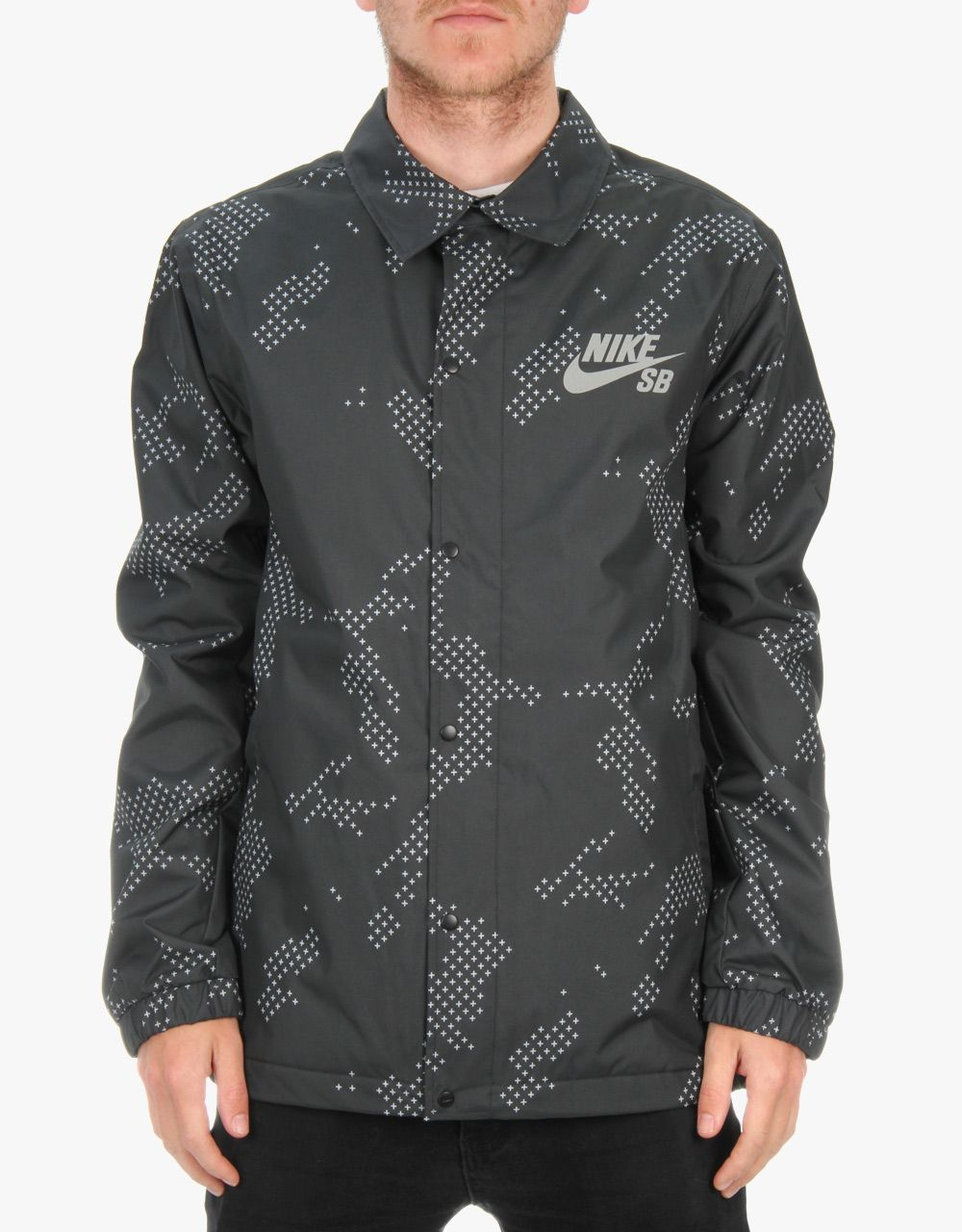 Nike jacket army - Nike Sb Assistant Coaches Jacket Black Anthracite White