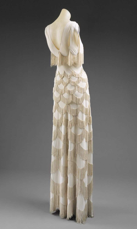 Evening gown.  Madeleine Vionnet, Paris.  ca 1938  Culture: French  Medium: rayon
