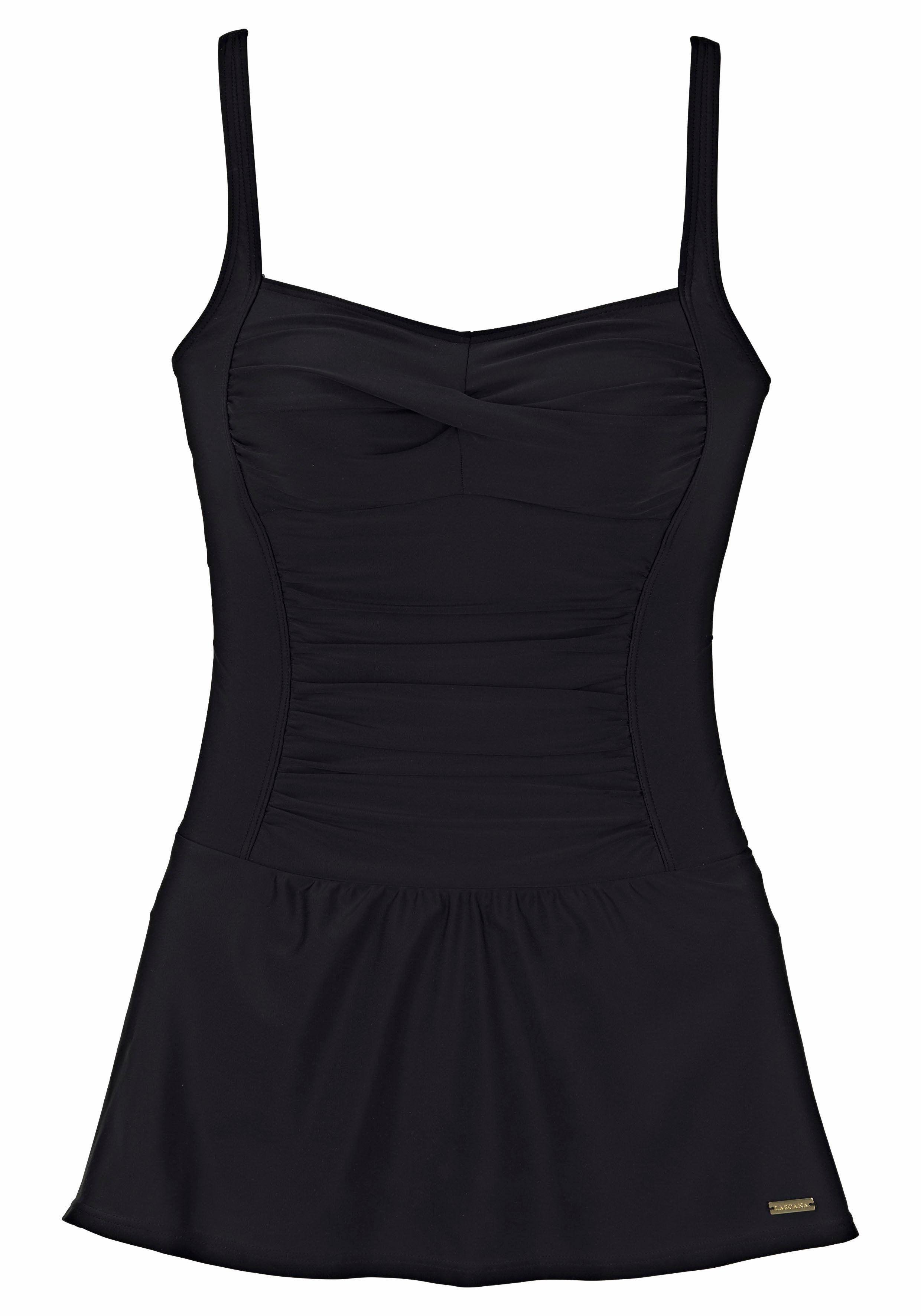 aa466c3848d6 LASCANA Badeanzugkleid mit modischen Raffungen Jetzt bestellen unter   https   mode.ladendirekt