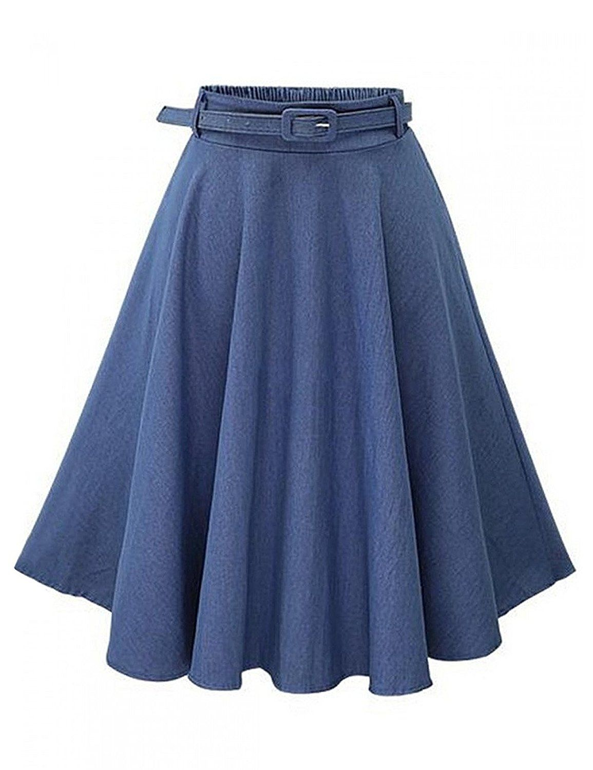 Leadingstar Women's Retro Vintage Pleated Denim Party Skater Skirt A Line Jeans Skirt   https://www.amazon.com/gp/product/B01J7LUIR2/ref=as_li_qf_sp_asin_il_tl?ie=UTF8&tag=rockaclothsto-20&camp=1789&creative=9325&linkCode=as2&creativeASIN=B01J7LUIR2&linkId=08e000469c03dda35125cd51f91b5f61