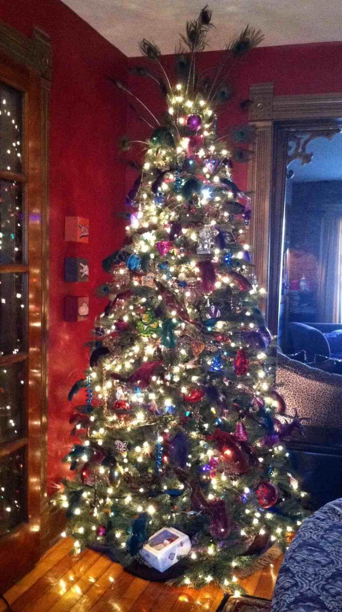 +25 Top View Post Elegant Christmas Tree Decorating Ideas 2013