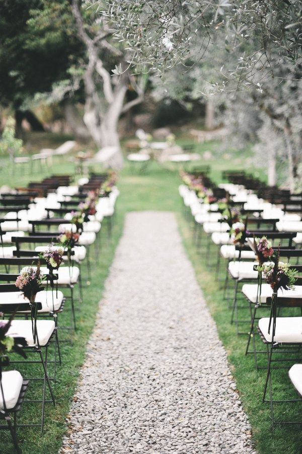 Simple Wedding Aisle Decor And Set Up Rustic Wedding Inspiration Wedding Ceremony Decorations Wedding Aisle Decorations