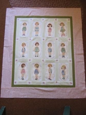 Paper Doll Quilt-Paper Doll Quilt