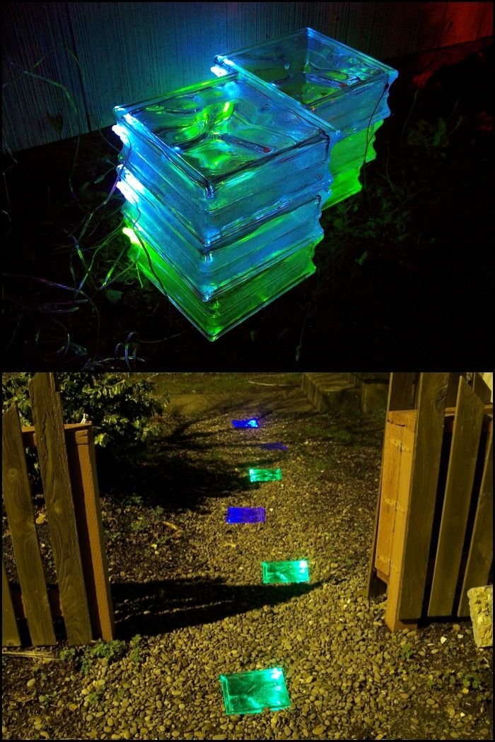 How to make solar powered stepping stones  yard  Solar garden lanterns, Solar patio lights