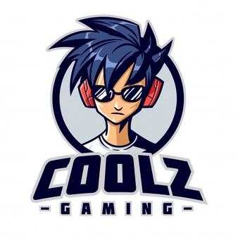 Cool Gamer Character Mascot Logo Desain Logo Game Kartun Logo Keren