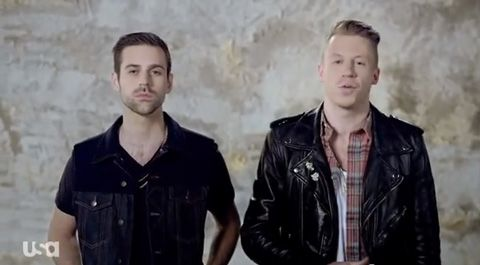 Macklemore & Ryan Lewis We Won't Stand For It http://www.towleroad.com/2014/01/mackstand.html