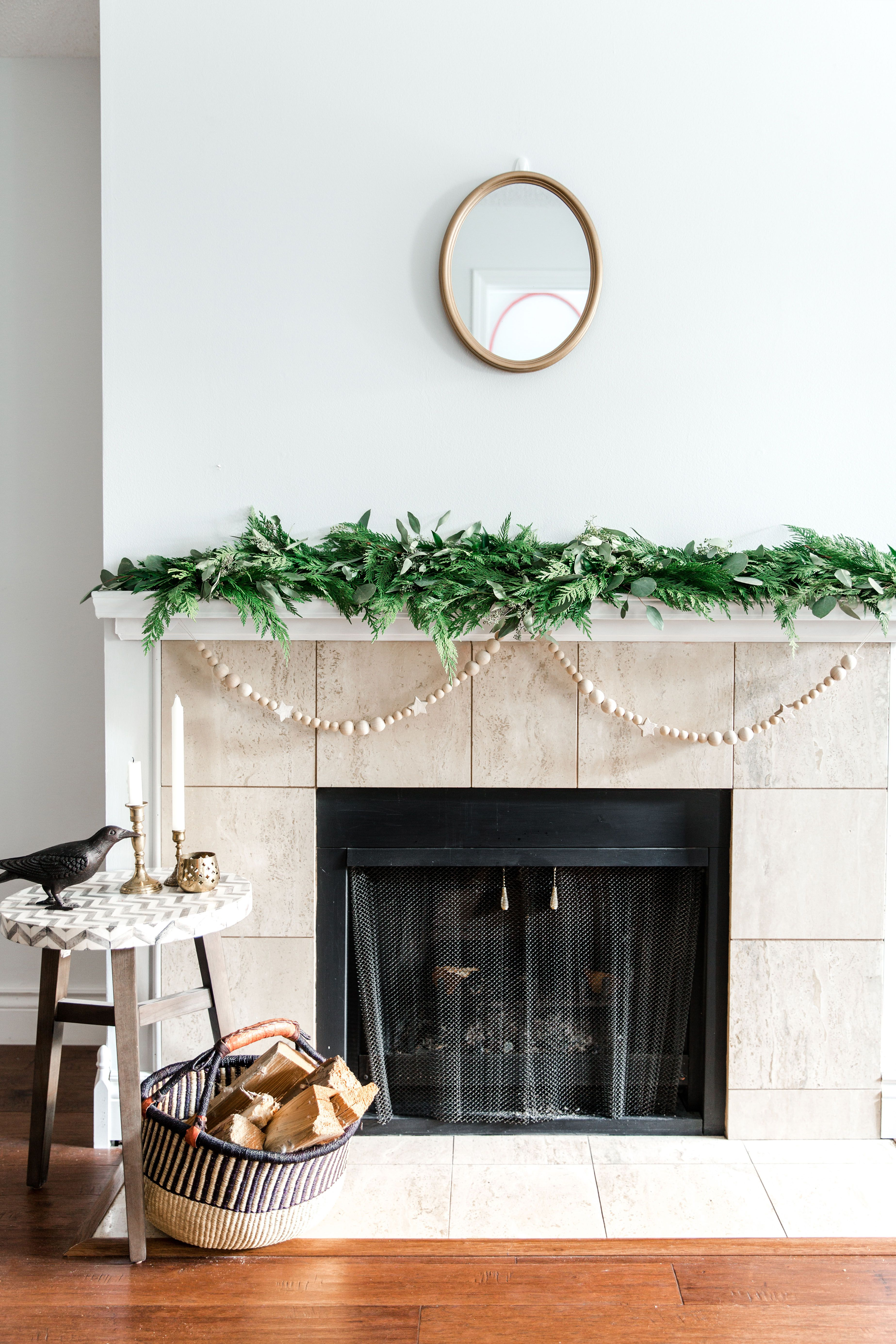 Minimalist Traditional Christmas Garland - Christmas, Christmas Decorations, Christmas Decor,