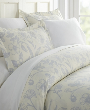 Home Collection  Premium Ultra Soft 3 Piece Burst of Vines Print Duvet Cover Set